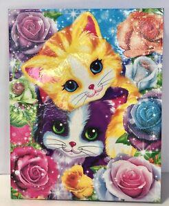 Vintage-Lisa-Frank-Playtime-Kittens-NEW-Sparkly-Glitter-2-Pocket-Folder-90s-Kid