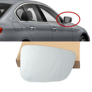 Fit For Bmw 7 Series 2017 2021 G11 G12 740i 750i Right Wing Mirror Glass Heated Ebay