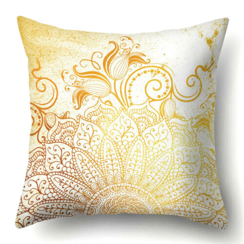 Bohemian Mandala Throw Polyester Pillow Case Floor Cushion Covers Home Decor Lot