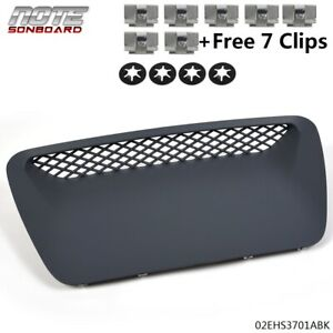 G-PLUS 1PCS Hood Scoop Molding Bezel Replacement for Dodge Ram 1500 SRT 2004-2005 4 Retainer Nuts 7 Clips Included