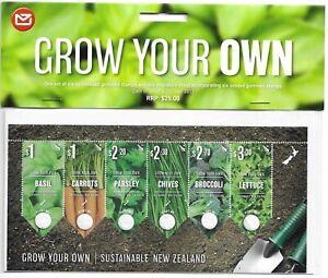 NUOVA Zelanda 2017 New Zealand SEMI SEED SEMI Basil CARROT CAROTA ORTAGGI Broccoli