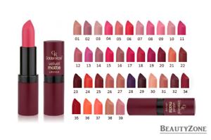Golden Rose Velvet Matte Lipstick – No