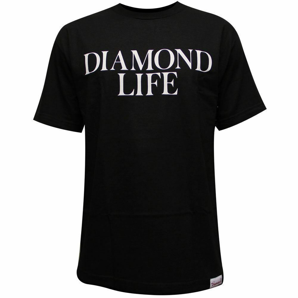 Diamond Supply Co Diamond Life T-shirt T-shirt T-shirt nera 77a9b8
