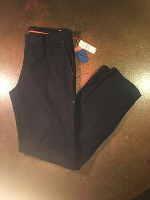 Tommy Bahama Pants Del Chino Black 100 Pima New Waist