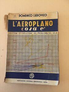 L-039-AEROPLANO-COSA-E-039-DOMENICO-LUDOVICO-IL-VOLO-ASS-CULT-AERONAUTICA-ROMA-1949