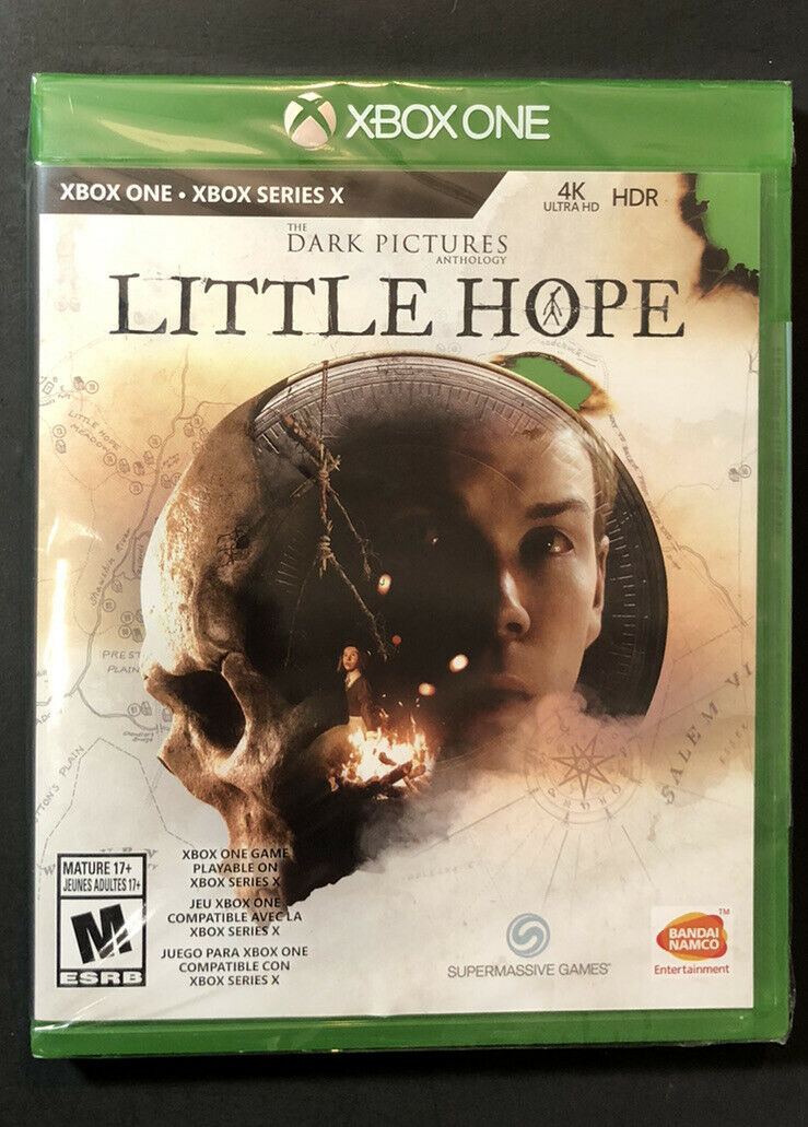 The Dark Pictures Anthology [ Little Hope ] (XBOX ONE) NEW