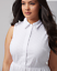 Lane-Bryant-White-Eyelet-Shirtdress-14-16-18-20-22-24-26-1x-2x-3x-4x-Dress thumbnail 3