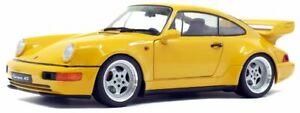 Solido-1803401-1803-402-PORSCHE-964-Diecast-Model-Cars-Giallo-O-Rosso-Scala-1-18th