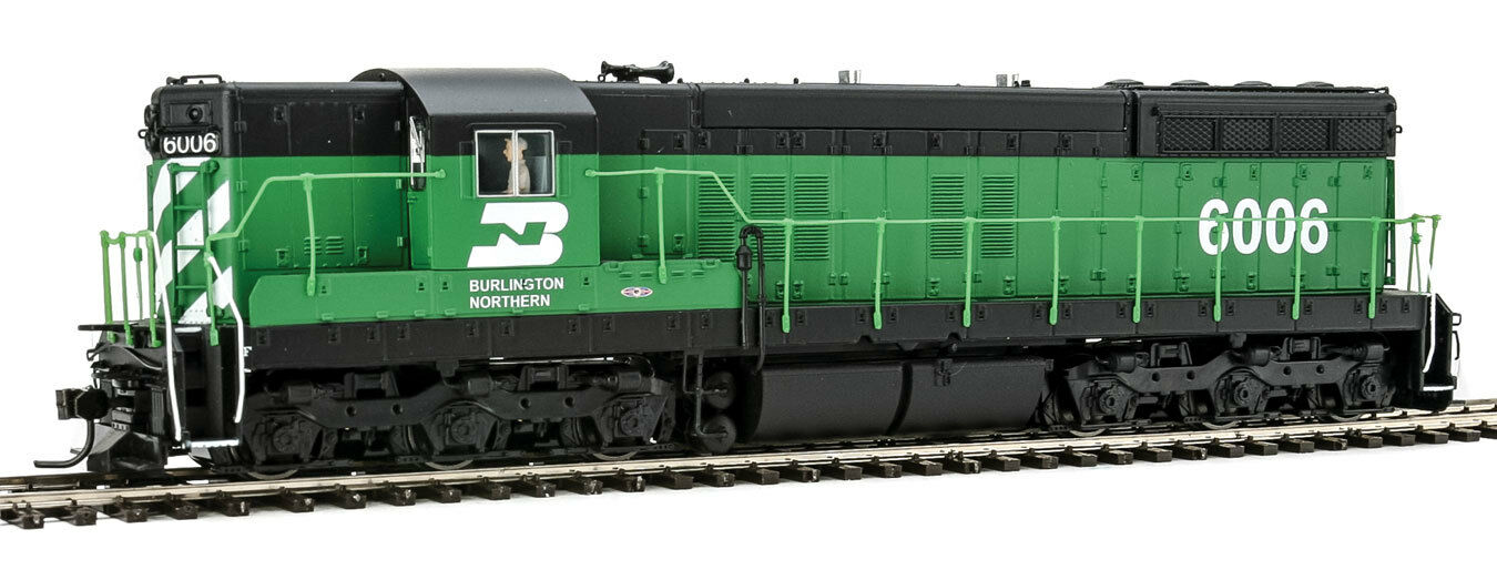 Escala H0 - Locomotora Diésel SD7 Burlington Northern con Sonido - 4231NEU