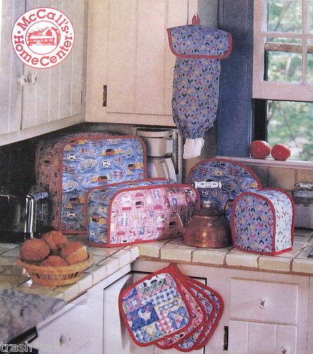 Home Decor pattern Kitchen Essentials Appliance cover potholder casserole cover