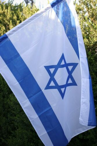 3x5 ft ISRAEL National FLAG Jewish Star Magen David Israeli State Country Banner