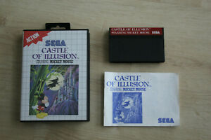 castle of illusion starring mickey mouse jeu sega master system complet