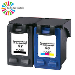 2x COMPATIBLE HP 56 BLACK AND HP 57 COLOUR INK CARTRIDGES