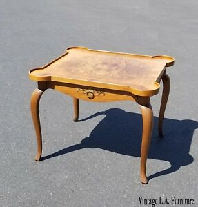 Vintage French Style Side Table End W
