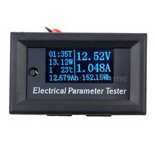 7 in 1 OLED Panel Power Energy Meter Voltage Current Time Capacity Tester Y6Y6