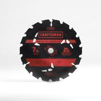 Craftsman Cm 7 1/4in -18t Carbide Blade