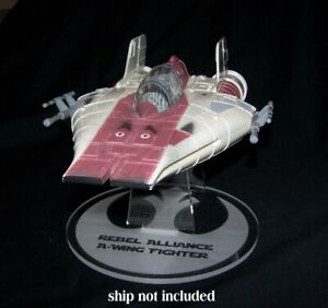 acrylic display stand for the Kenner /& Hasbro Star Wars Tie Fighter vintage