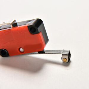 2 PCS Micro Switch Spdt Hinge Roller Lever 15A V-156-1C25 Nice UK STH