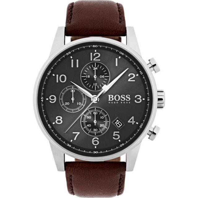 9301c6cbc153 Nuevo Hugo Boss Hb 1513494 Hombre Navigator Reloj - 2 Años de Garantía