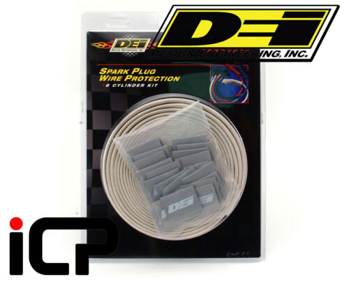 DEI Heat Protective Silver Protect-A-Wire For Ignition HT Leads 8 Cylinder Kit