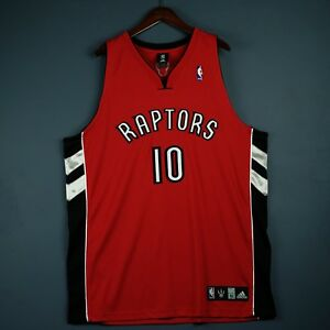 outlet store 365aa 3e5ca Authentic Demar Derozan Adidas Raptors Jersey Size 52 2XL ...
