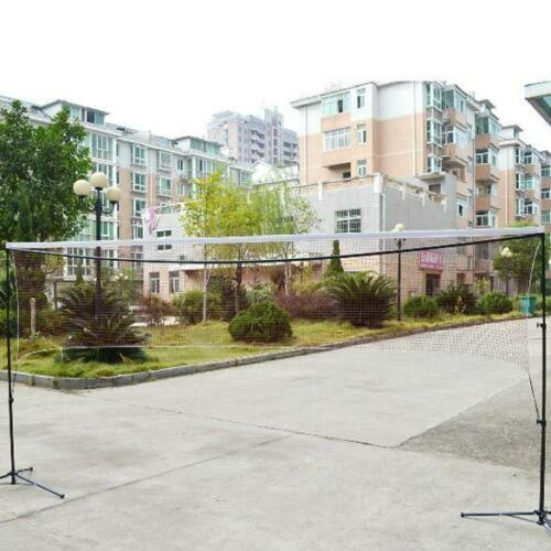Portable Standard Training Badminton Volleyball Tennis Net Outdoor Garden Sports
