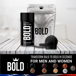 BOLD-Dark-Brown-Hair-Loss-Building-Fibers-Black-Medium-Light-Brown