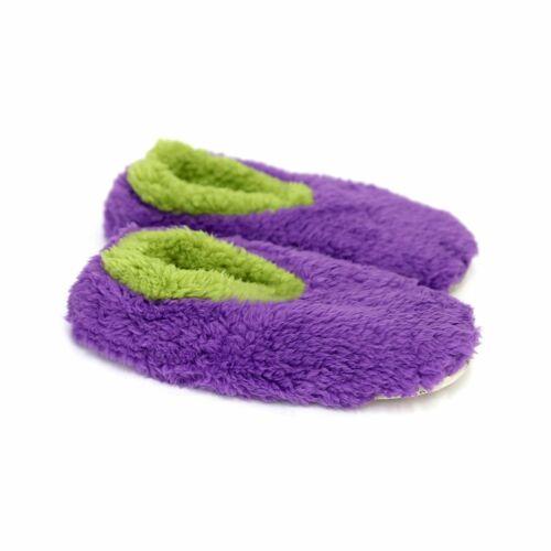 SLUMBIES UNISEX Fun with Fur Non-Slip Soft Slippers