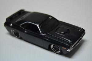 Coche-de-Juguete-Maisto-Dodge-Challenger-R-T-1970-Negro-Mate