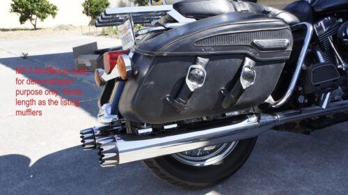 "MUTAZU 4.5/"" Roaring Series Slip-On Mufflers Exhaust for 2017-up Harley Touring 2"