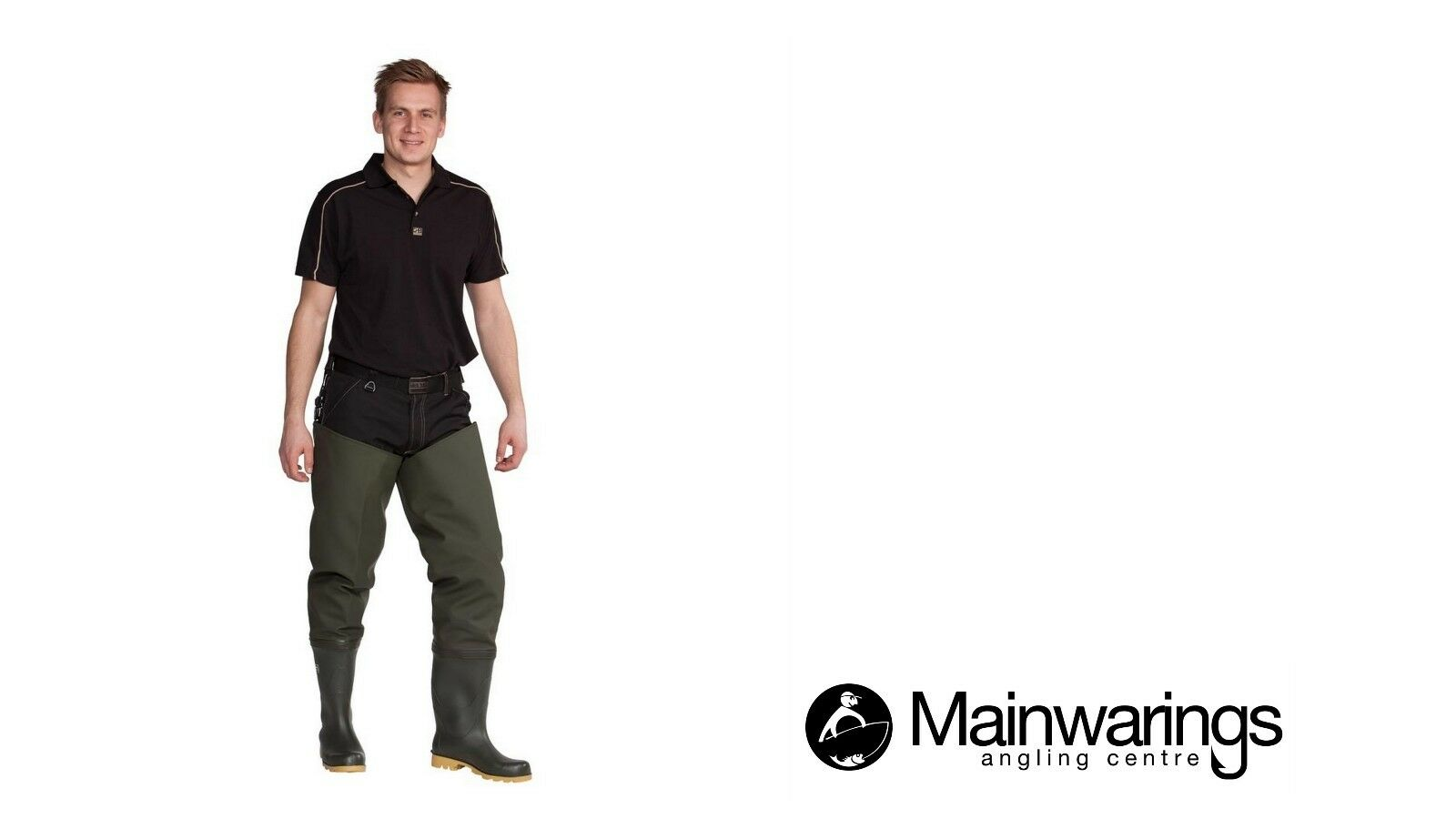 OCEAN DELUXE 700G THIGH WADERS - CLEATED - ALL SIZES