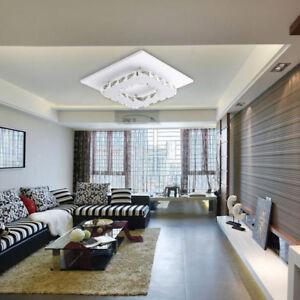 Modern Crystal Led Flush Mount Ceiling