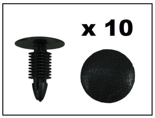 10 x Fir Tree Clip perfetti per NISSAN 7.5mm Hole