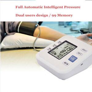 Tensiometro de Brazo Metro Inteligente Deteccion Arritmias Digital Pulsometro