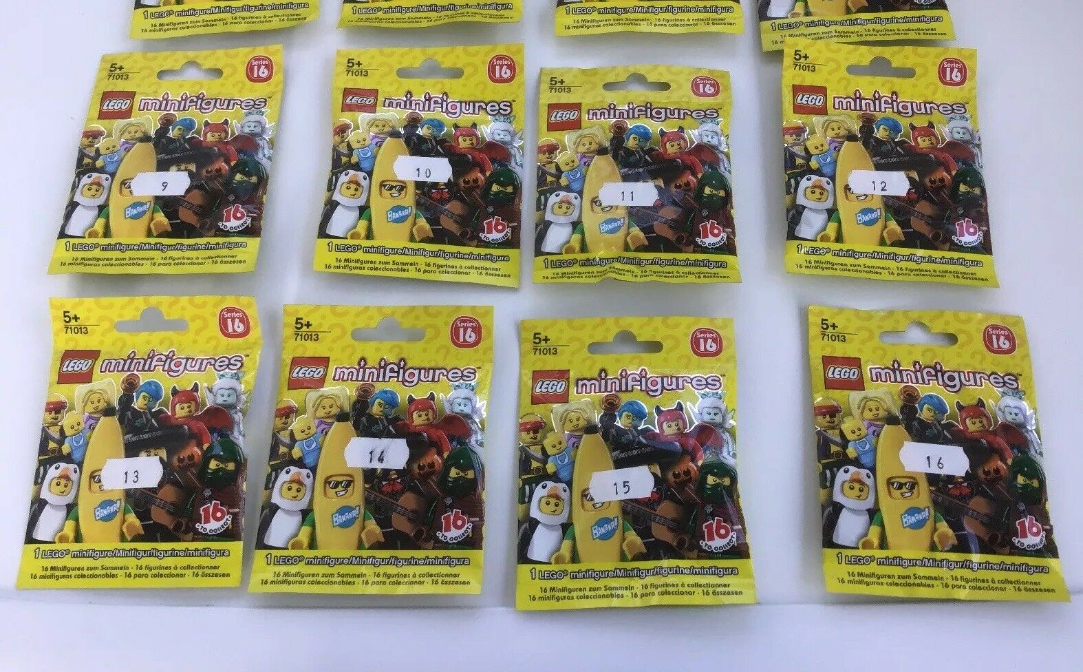 Lego Minifigures Series 16 Set 71013 Complete 16 16 16 Minifigs From 2016 Brand New 335ecd