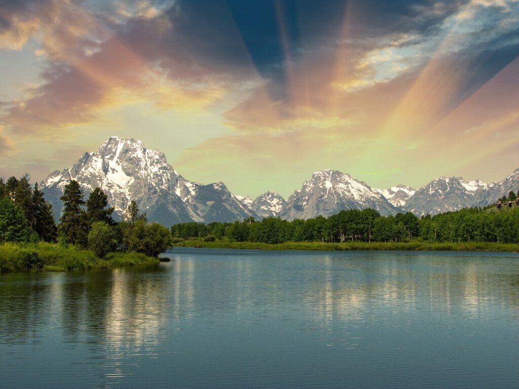 3D Sonnenschein See Berg Berg Berg Wald 7 Fototapeten Wandbild BildTapete AJSTORE DE Lemon | Der Schatz des Kindes, unser Glück  | Exquisite (in) Verarbeitung  | Ausgezeichnete Leistung  f7c24e