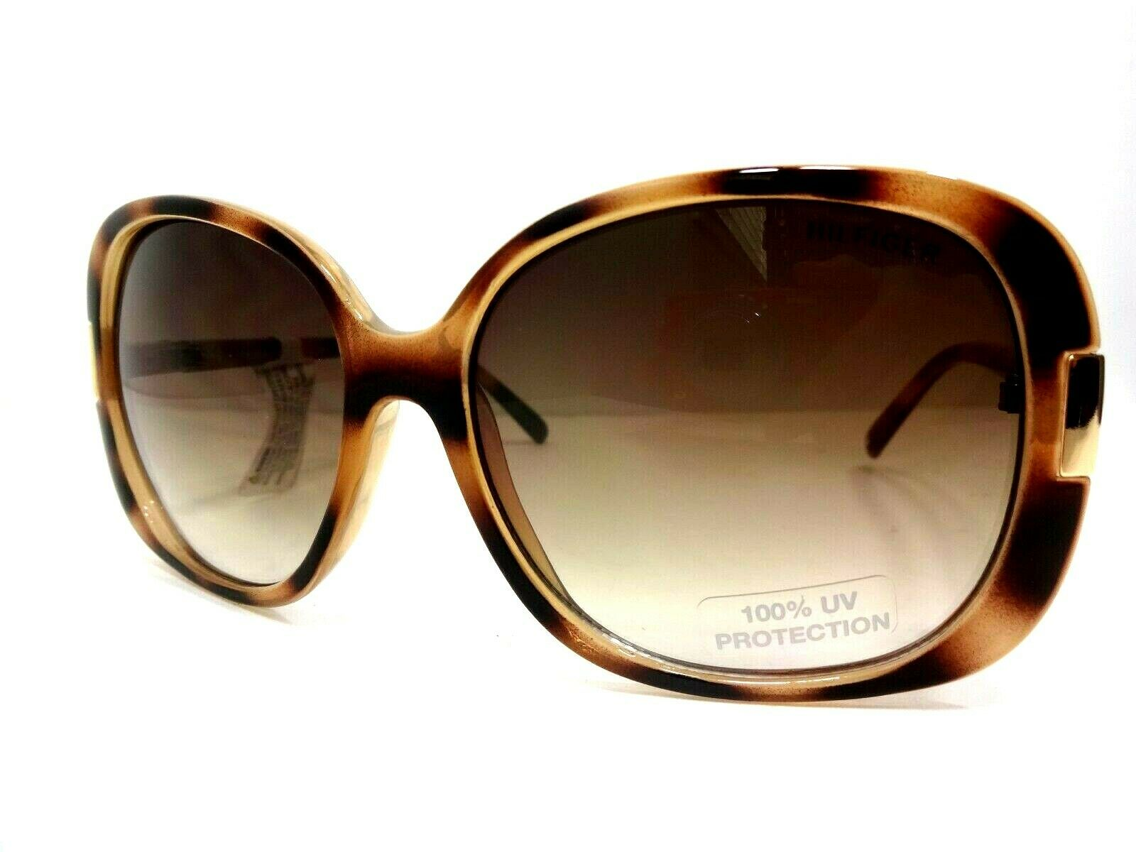 ***TOMMY HILFIGER LADIES OVERSIZED SUNGLASSES, LEOPARD, BRAND NEW AND AUTHENTIC!