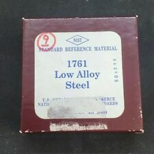 Nist Standard Reference Material 1761 Low Alloy Steel