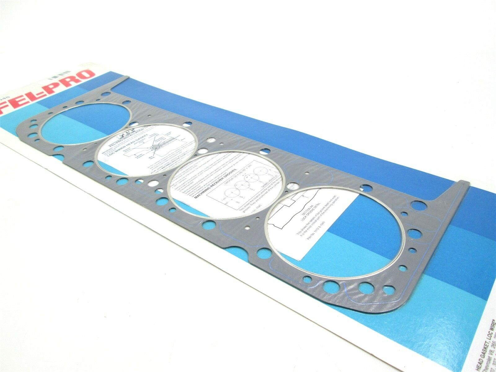 """NEW Fel-Pro Head Gasket 1045 Chevy Small Block V8 4.180/"""" Bore .039/"""" Thickness"""