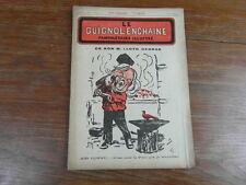 Revue LE GUIGNOL ENCHAINE PAMPHLETAIRE ILLUSTRE No 7 (10 Jun. 1922) LLOYD GEORGE
