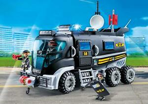 Playmobil #9360 SWAT Truck - New Factory Sealed