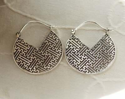 Gold Ethnic earrings Brass Gypsy Earrings Boho Earrings Silver Ethnic Earrings Tribal Earrings Bohemian Earrings