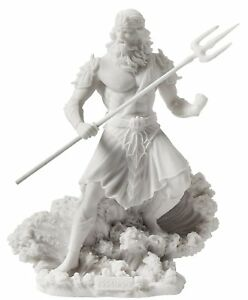 Details About Poseidon Greek God Of The Sea With Trident Statue Greek Mythology Gift Figurine