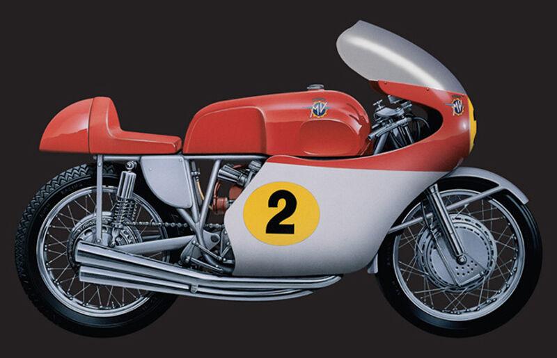 MV AGUSTA 500 cc 1964 1964 1964 M.Hailwood 1 9 kit di montaggio 4630 Italeri 6fa5c0