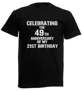 Image Is Loading Celebrating 70th T Shirt Funny Mens Birthday