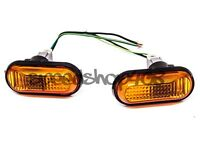 92-95 Civic Amber Dome Side Marker Lights Fender Replacement Jdm Style Eg6