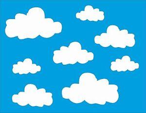 Wolken wandtattoo kinderzimmer aufkleber himmel for Himmel kinderzimmer