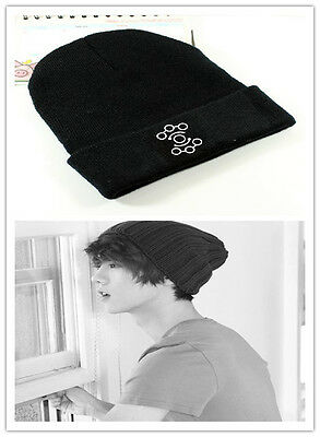 EXO-M Cap LUHAN Knit Beanie Hat Kpop Adjustable Snapback fitted constellation