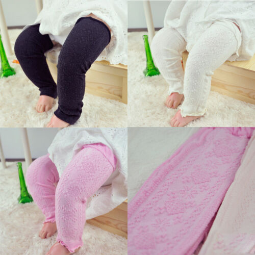 Fashion Baby Child Kid Solid Plain Checks Long Socks Tights Arm Leg Warmers