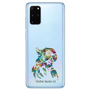 Coque Galaxy Note 10 LITE perroquet fleur personnalisee